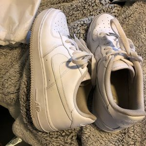 White Airforce 1's